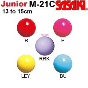 Sasaki Junior Plastic Ball (13-15 cm) M-21C
