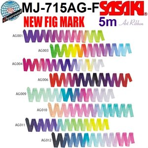 Sasaki ART Gradation Ribbon (5 m) MJ-715AG-F