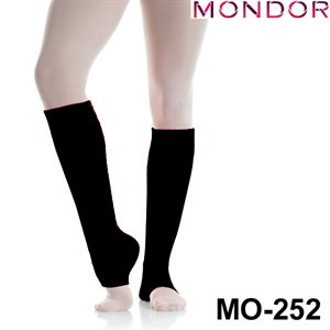"Mondor Charcoal Purple 16"" Legwarmers 00252"