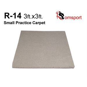 ROMSPORTS RT-14-3X3 PRACTICE CARPET WITH UNDERPADDING