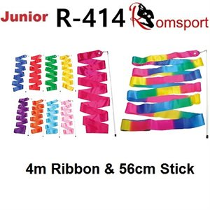 Romsports Ribbon (4m) & Stick (56cm) Set R-414