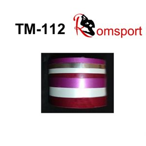 "Romsports Metallic Vinyl Base Adhesive Tape (75' x 1 / 2"") TM-1 / 2"