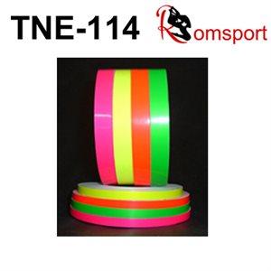 "Romsports Neon Adhesive Tape (75' x 1 / 4"") TNE-1 / 4"