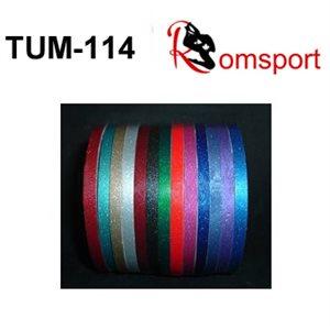 "Romsports Ultra Metallic Adhesive Tape (75' x 1 / 4"") TUM-1 / 4"