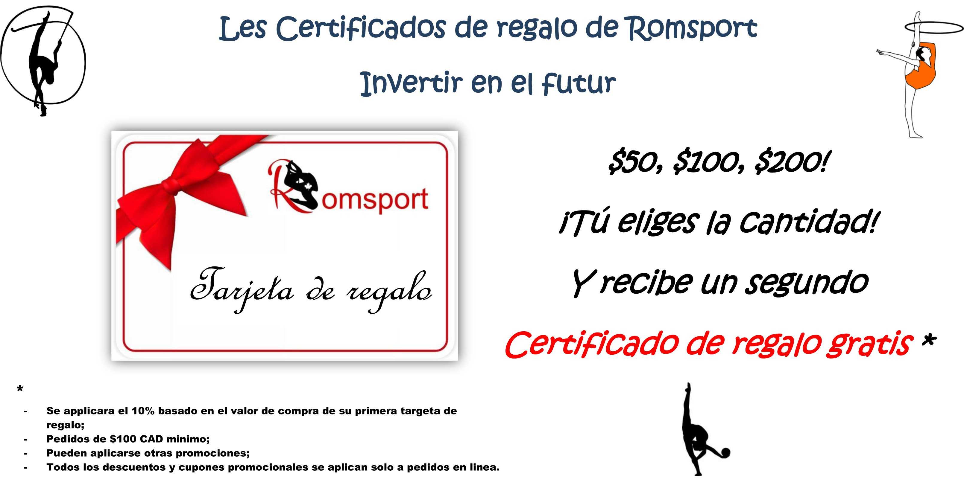 Gift Certificate promotion_es
